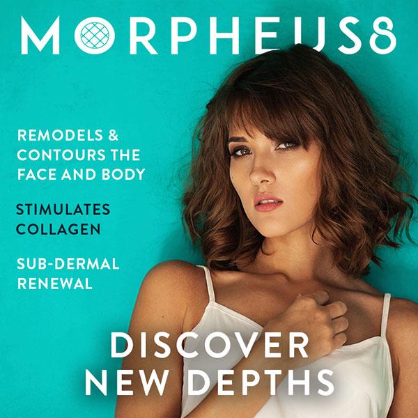 Morpheus 8. Stimulates Collagem. Sub-Dermal Renewal.